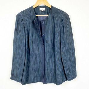 Tamotsu New York Unique Streak Blazer Jacket